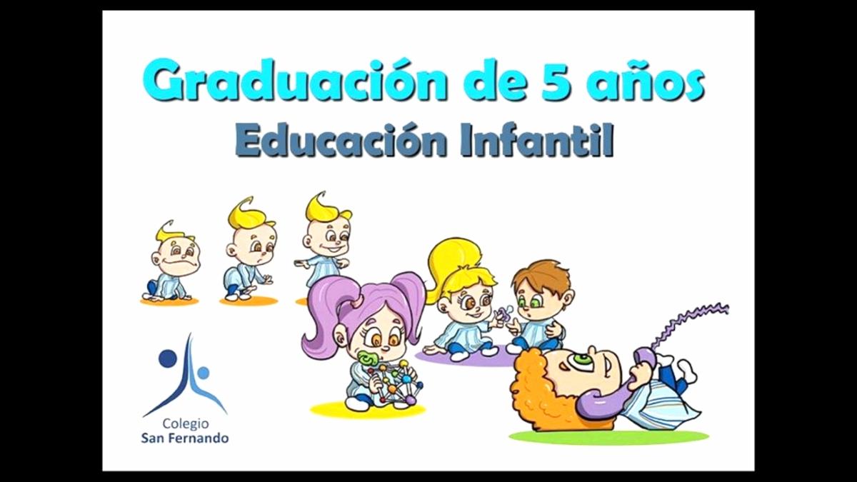 Graduación Educación Infantil 2017